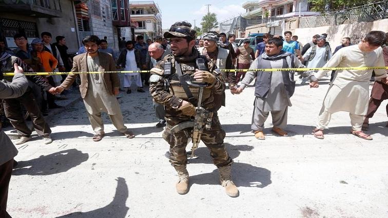US air strike in Afghanistan