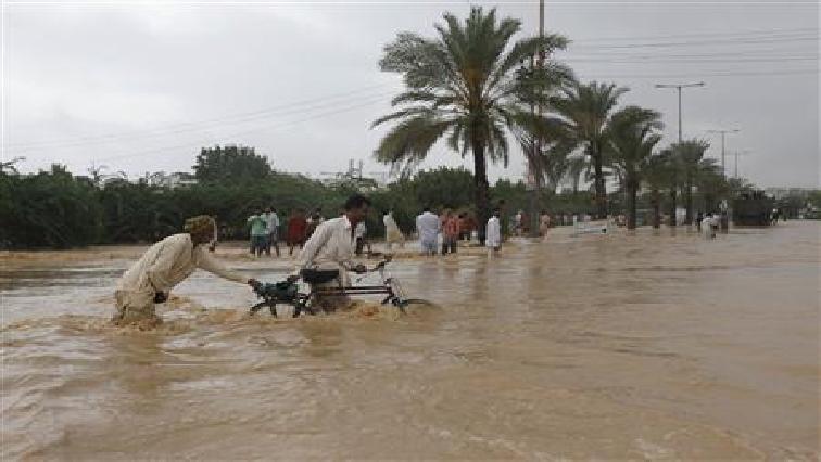 Afghanistan flesh flood.
