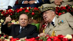 President Abdelaziz Bouteflika and Army Chief of Staff General Ahmed Gaed Salah