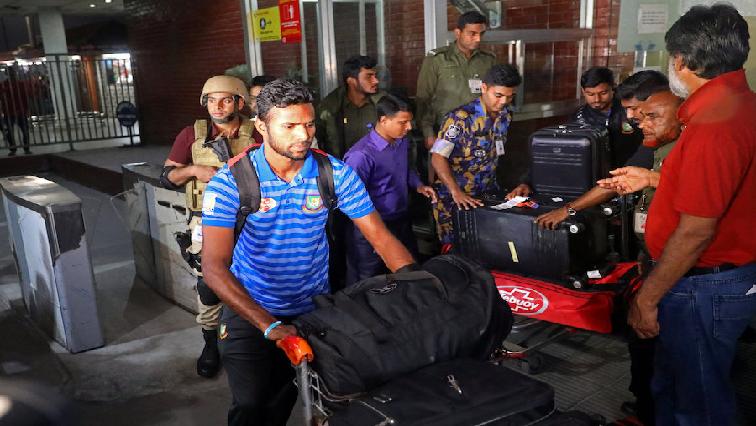 Bangladesh cricket team.