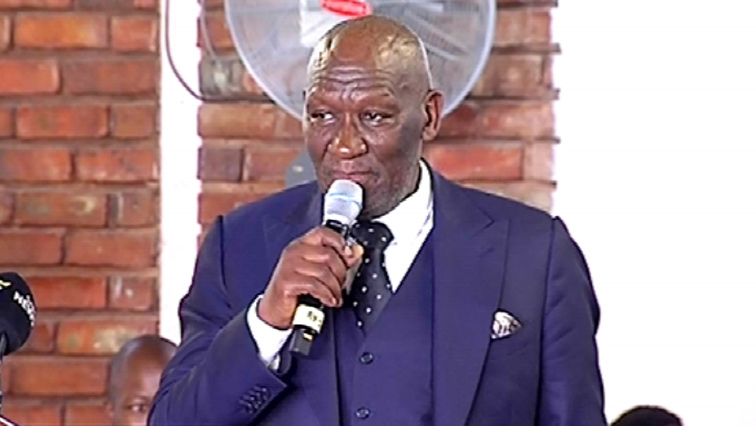 SABC News Bheki Cele 1 - Cele confirms arrest of suspect for 'Matwetwe' film star's murder