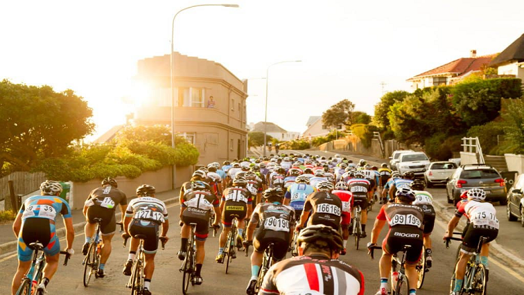 SABC News Cape Town Cycle Tour Twitter @lovecapetown - Cape Town Cycle Tour takes place on Sunday