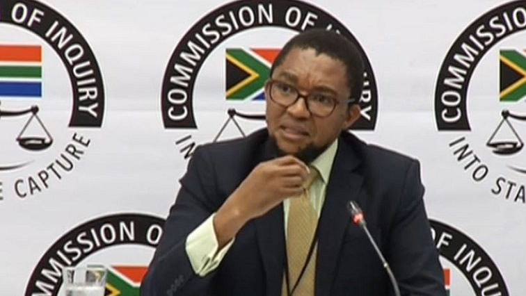 Deputy Director-General at the Public Enterprises Khathatso Tlhakudi