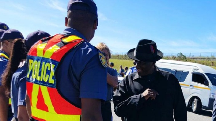 SABC News Cele.JPG Twitter@SA Police  - Cele orders police to shutdown illegal shebeens in Western Cape