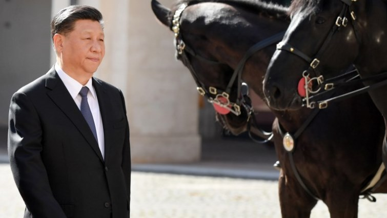 SABC News China Pres Xi AFP - China, Italy looking to strengthen trade, infrastructure ties-Xi