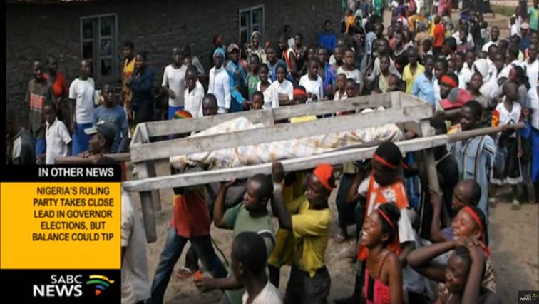 Congo tribal massacres.