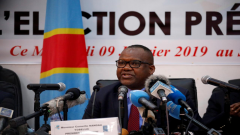 Corneille Nangaa, president of Congo's National Independent Electoral Commission.