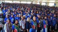 DA supporters