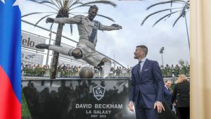 SABC News David Beckham on MLS Reuters 300x169 - Galaxy honour David Beckham on MLS opening day
