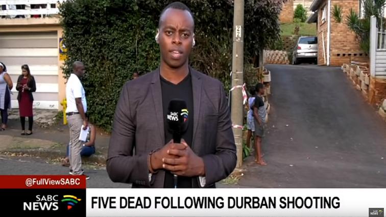 Durban shooting.