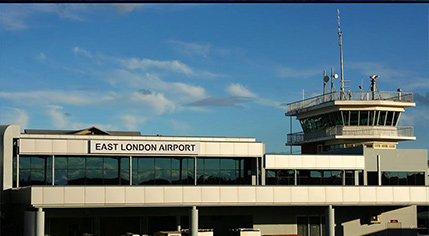 SABC News EL airport - E London Airport cancels flights due to technical glitch