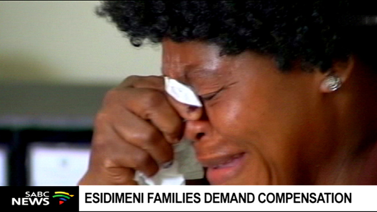 Esidimeni family representative emotional