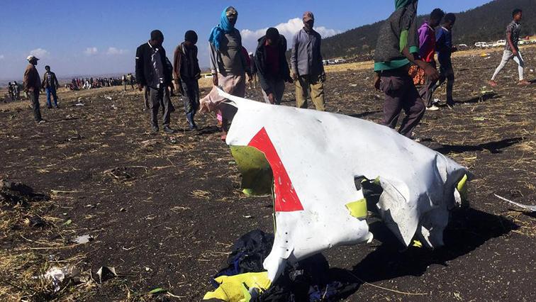 Ethiopian plane crash site