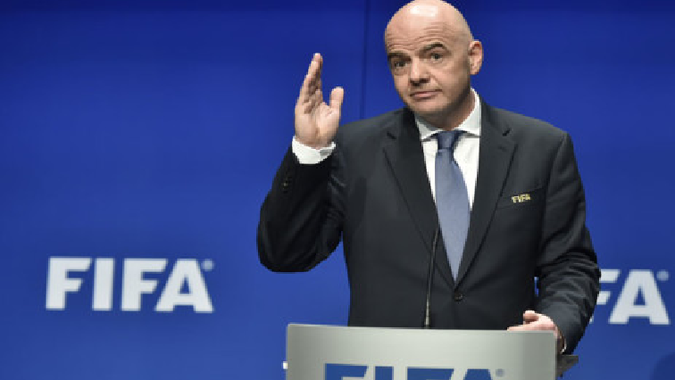 SABC News FIFA president Gianni Infantino AFP - FIFA backs 48-team World Cup in 2022