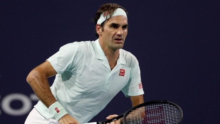 SABC News Federer AFP - Federer ready for Isner shoot-out for Miami crown