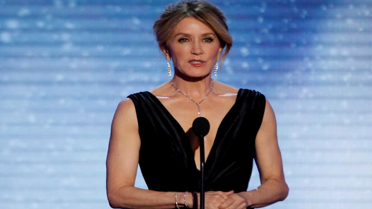 SABC News Felicity Huffman R - Hollywood stars among dozens charged over college entrance scam