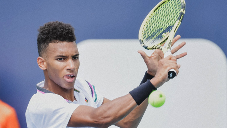 SABC News Felix Auger Aliassime - Canada's Auger Aliassime advances at Miami Open