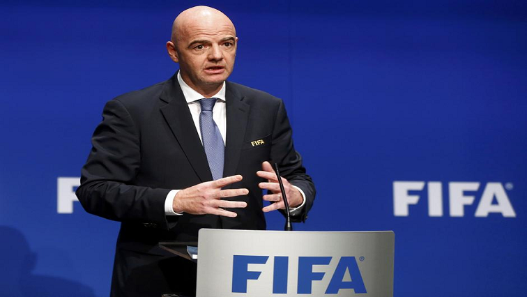 SABC News Gianni Infantino R - FIFA warns scandal-hit Oceania: Clean-up 'vital for survival'