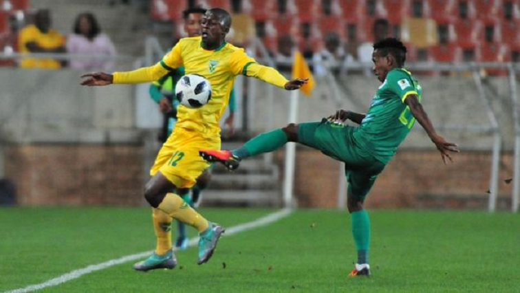 SABC News Golden Arrows Baroka Twitter @goldenarrowsfc1 - Arrows score last minute goal against Baroka to claim 3 points