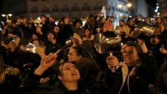 International Women's Day, Spain.