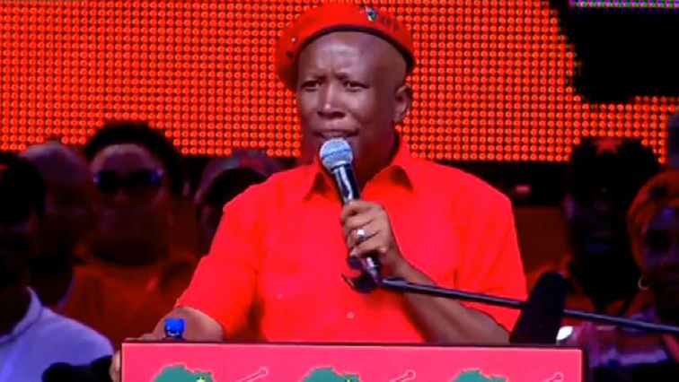 SABC News Julius Malema 3 - EFF supporters urged not to engage in xenophobic attacks