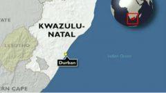 KwaZulu-Natal map.