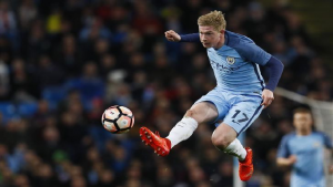 SABC News Kevin De Bruyne Reuters 300x169 - Man City's De Bruyne set for spell out with hamstring problem
