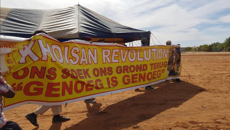 Khoisan Revolution Party banner