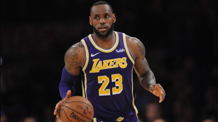 f2368a88ad77 LeBron James passes Jordan for fourth in NBA career points - SABC ...
