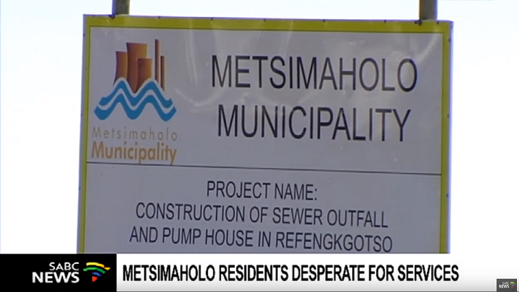 Metsimaholo Local Municipality.