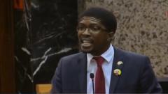 IFP MP Mkhuleko Hlengwa.
