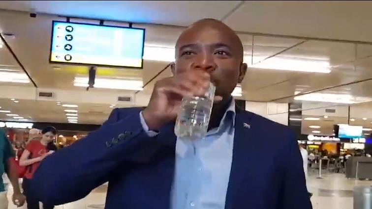 DA leader Mmusi Maimane.