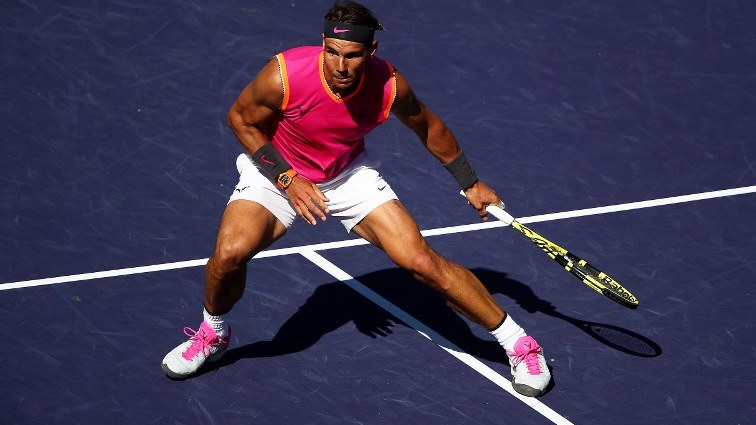 SABC News Nadal AFP - Nadal cruises into Indian Wells quarter-finals