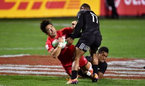 SABC News New Zealand AFP 285x169 - New Zealand unbeaten on opening day of Vegas Sevens