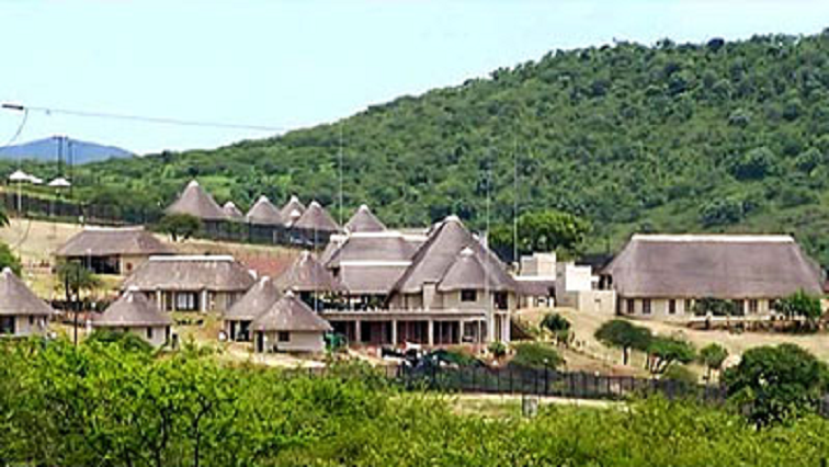 Nkandla homestead