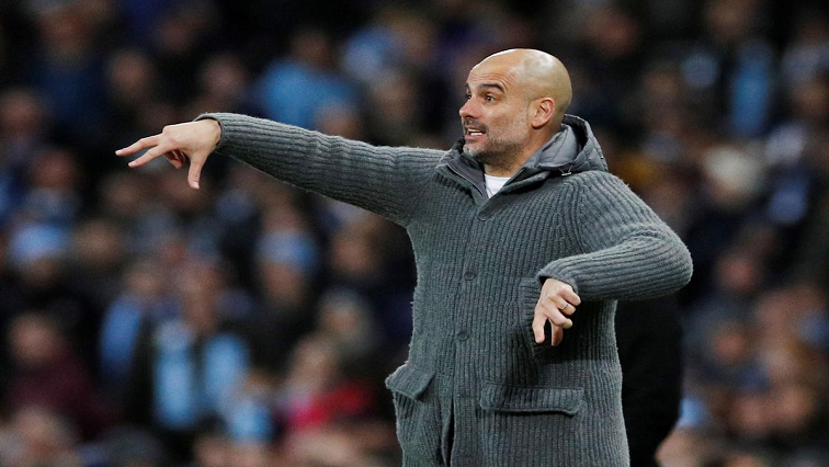 SABC News Pep Guardiola R - Champions League the measure of my success at City, says Guardiola