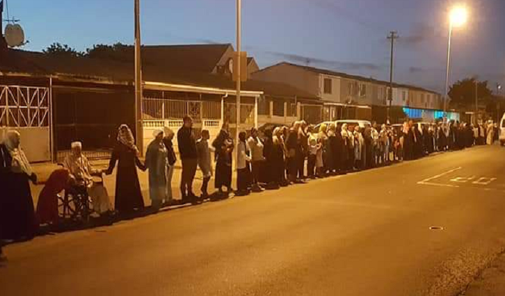 SABC News Prayer @EarlCraig06 - Cape Flats stands in solidarity with New Zealand after terror attack
