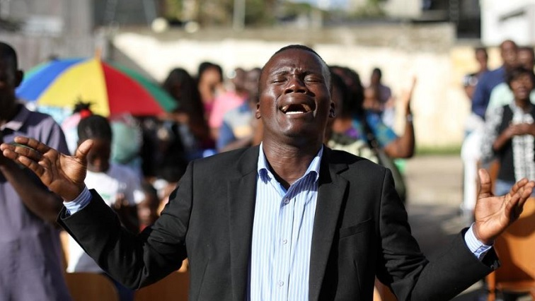 SABC-News Prayer.JPG (Reuters)