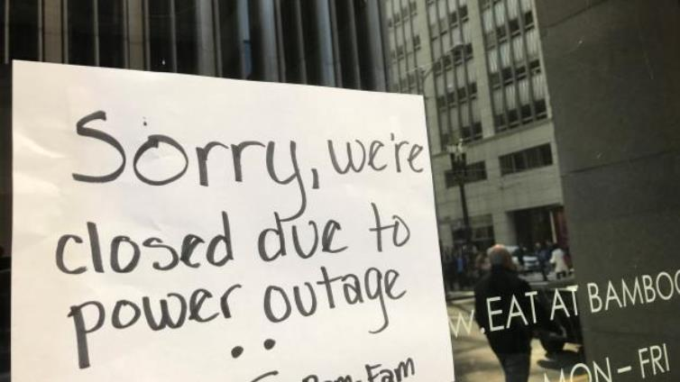 SABC News Resto closed power outage Reuters - Restaurants hard hit by power outages