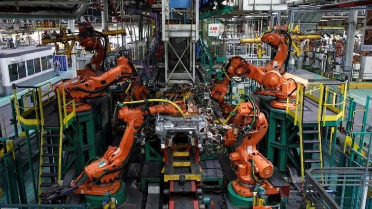SABC News Robots Reuters - US manufacturing sinks again in February: Fed
