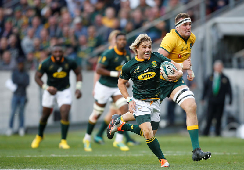 SABC News Rugby Reuters - Blitzboks proceed to Rugby Sevens quarter finals