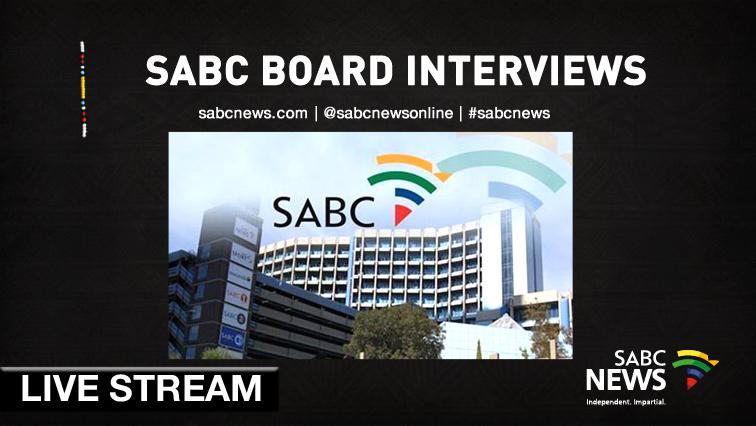 SABC News SABC Board Livestream 1 - SABC Board interviews Day 1