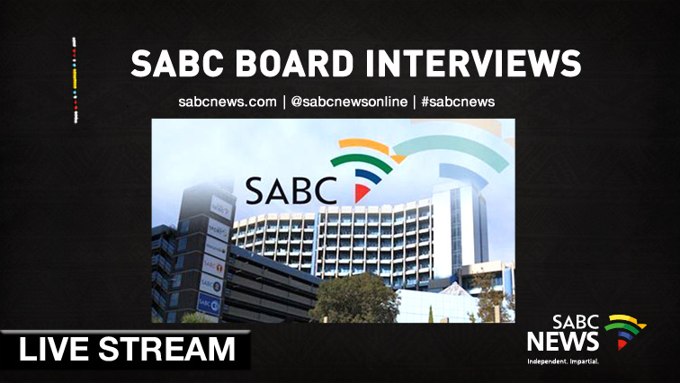 SABC News SABC Board Livestream - WATCH: SABC Board Interviews