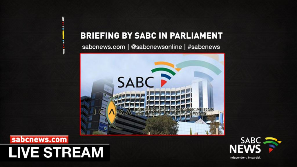 SABC News SABC ICASA IN PARLY LIVESTREAM 1024x577 - WATCH: SABC briefs Portfolio Committee on Communications