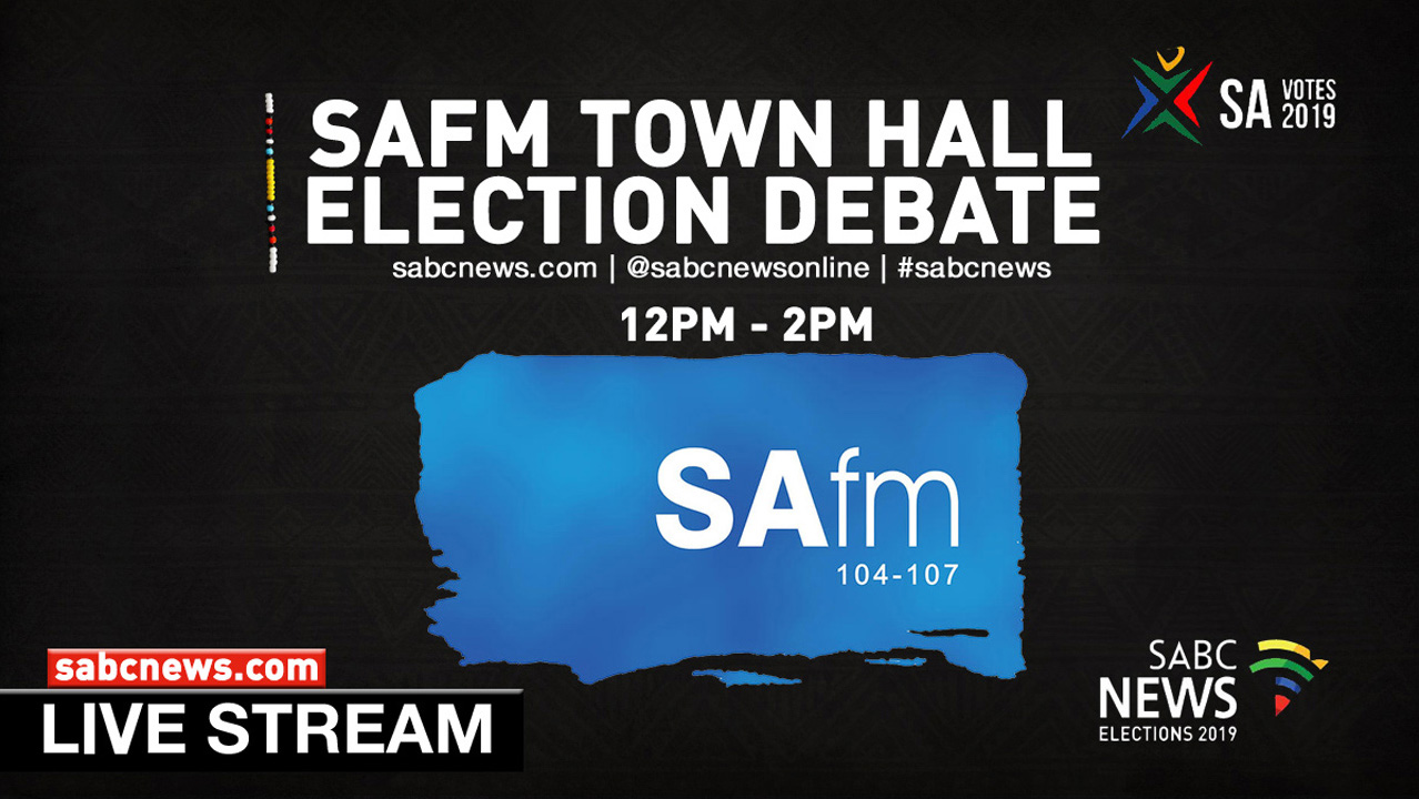 SAFM Town Hall pre-election debate
