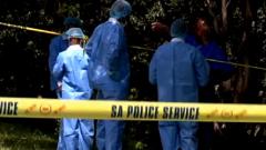 Kulani Mathebula crime scene