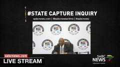 State Capture live stream
