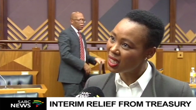 SABC News Stella Ndabeni Abrahams P - SABC to receive interim relief from Treasury