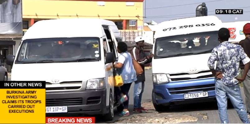 SABC News Taxi Routes R - Soweto taxi operator arrested for using closed routes