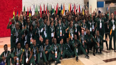 South African Special Olympics team.